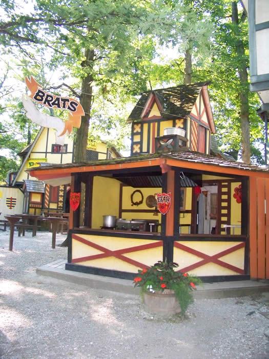 brat food booth