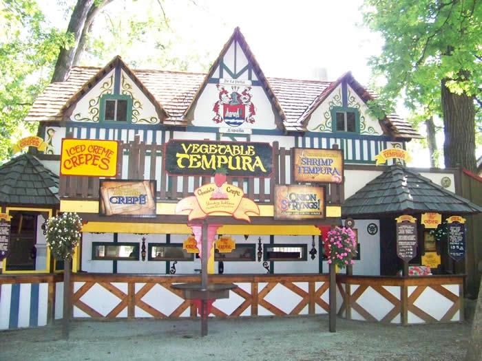 tempura booth