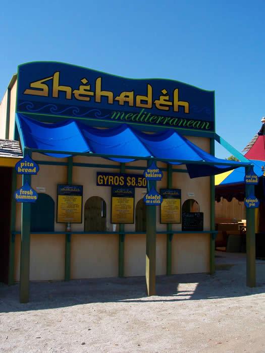 Food stand: Shehadeh