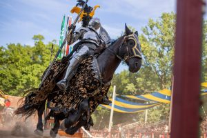 Entertainment: The Jousters photo by John Karpinsky