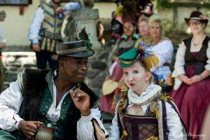 Entertainment: Street Corner Shakespeare living history