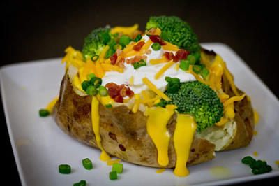 food baked potato