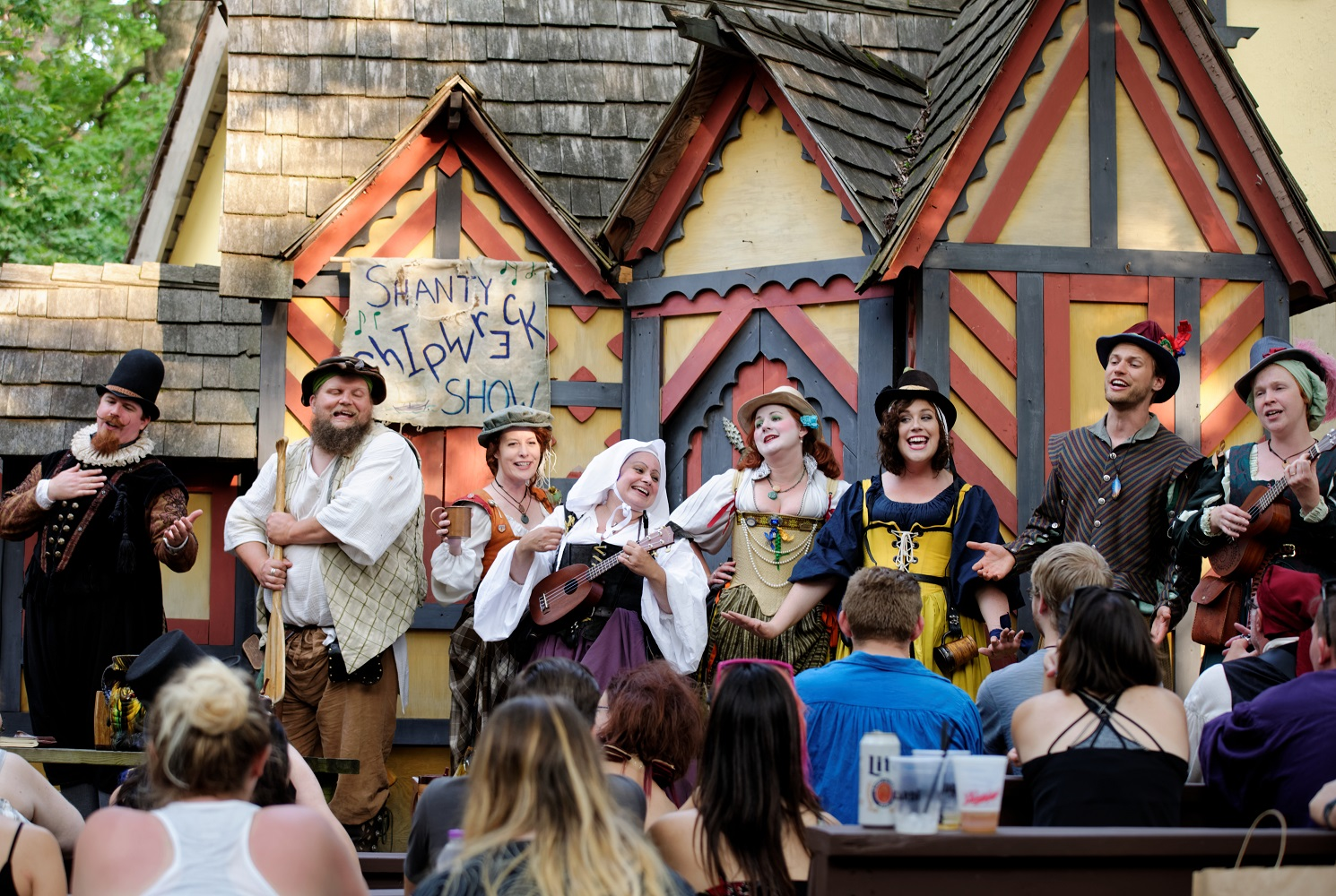 Entertainment: Shanty Shipwreck Show bawdy musical comedy
