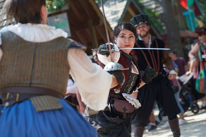 Entertainment: By the Sword stage combat