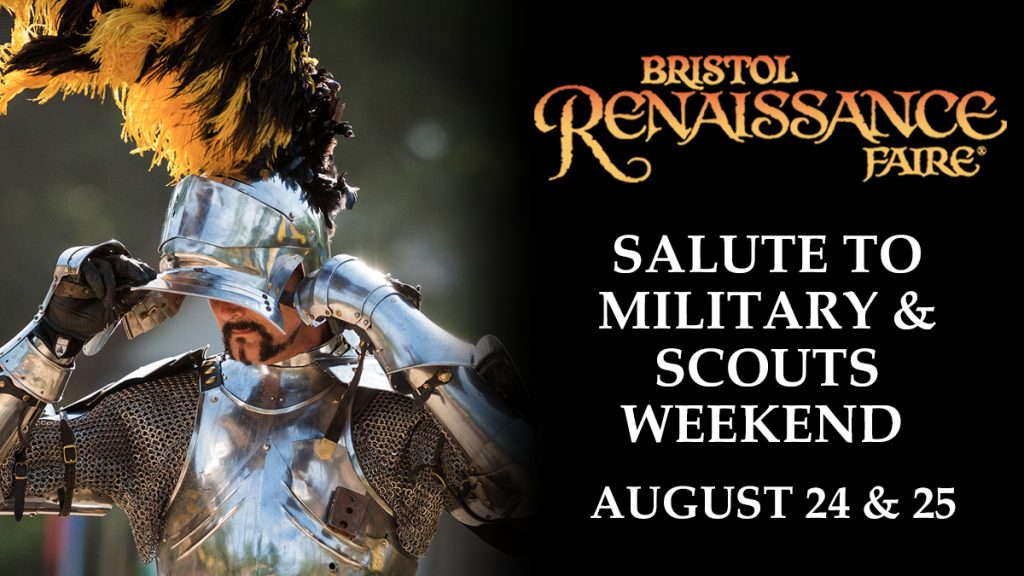 logo: Military and Scouts Weekend 2019