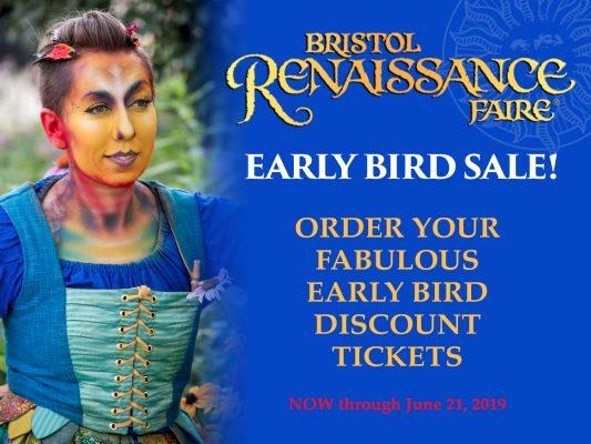 logo: Bristol Renaissance Faire Early Bird Sale 2019