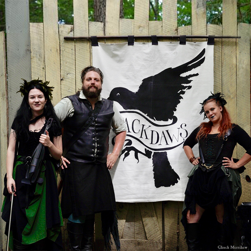 Entertainment: The Jackdaws musicians