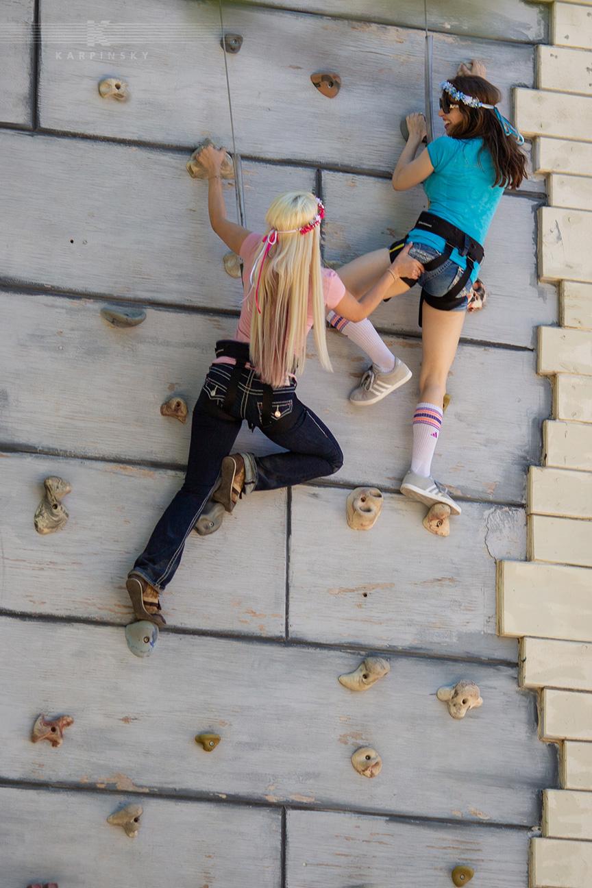 Game: Climbing Wall