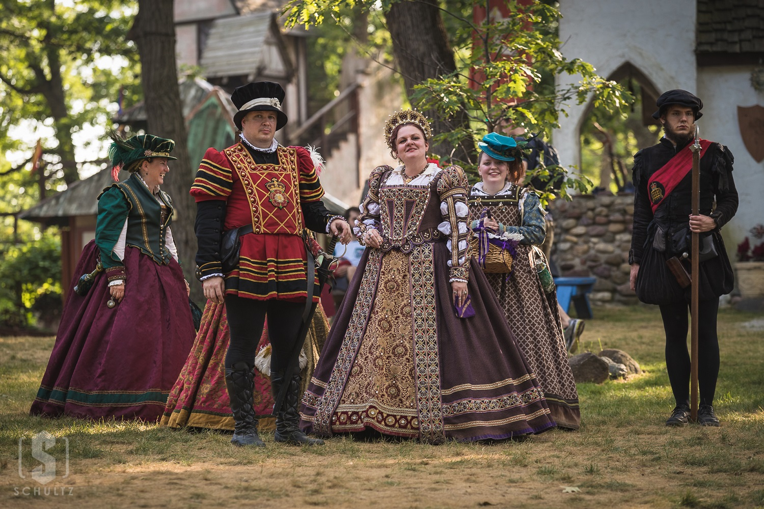 Entertainment: Queen's Welcome living history Brian Schultz