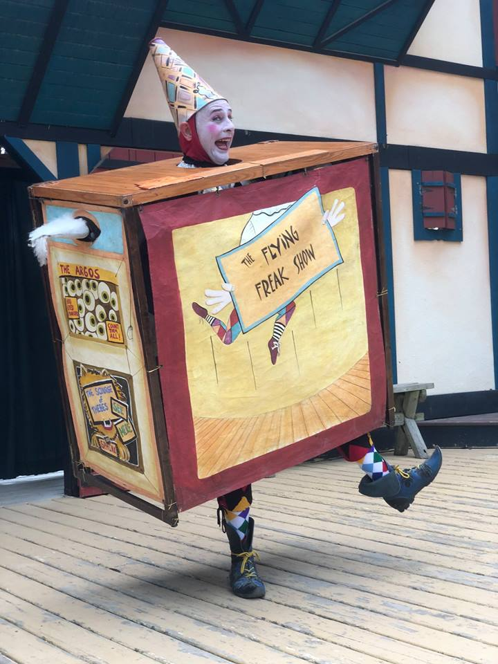 Entertainment: Gabriel Quirk Flying Freak Show