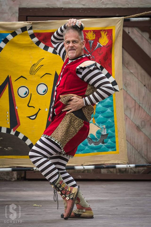 Entertainment: Moonie the Magnificent acrobat comedy