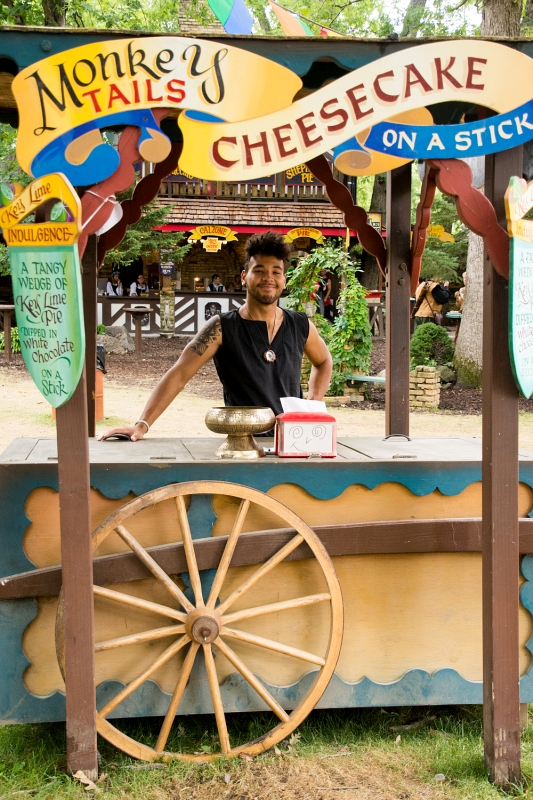 monkey tail cheesecake stand
