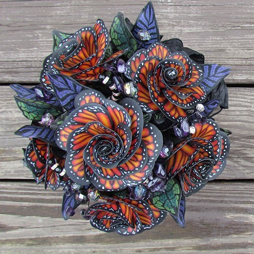 Ann Duncan Designs clay flower wedding bouquet Merchant Vendor Shopping Marketplace