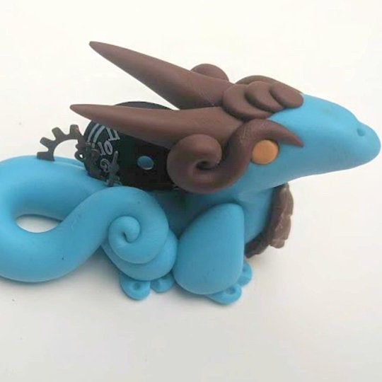 Daydream Dragons clay statue Merchant Vendor Shopping Marketplace