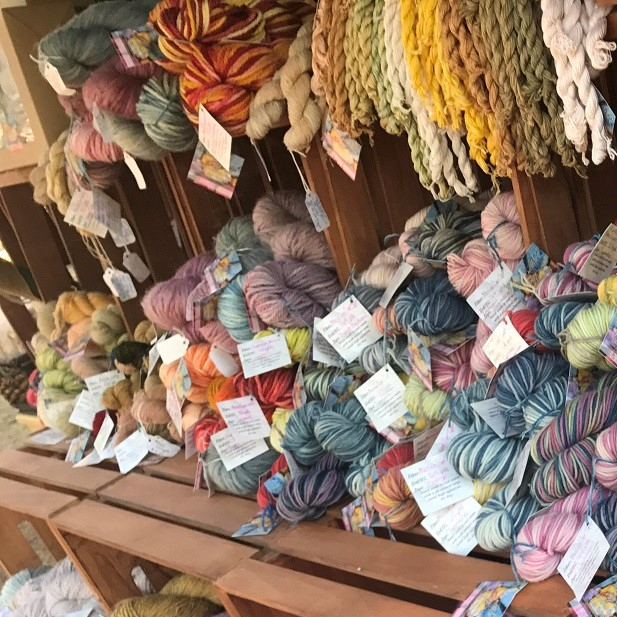 The Deckled Edge wool yarn knitting crochet Merchant Vendor Shopping Marketplace