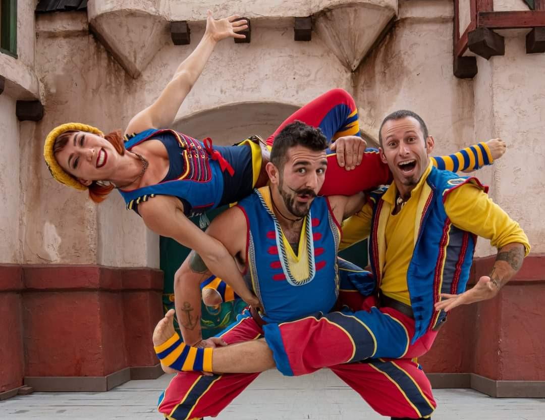 Entertainment: Barely Balanced comedy acrobats