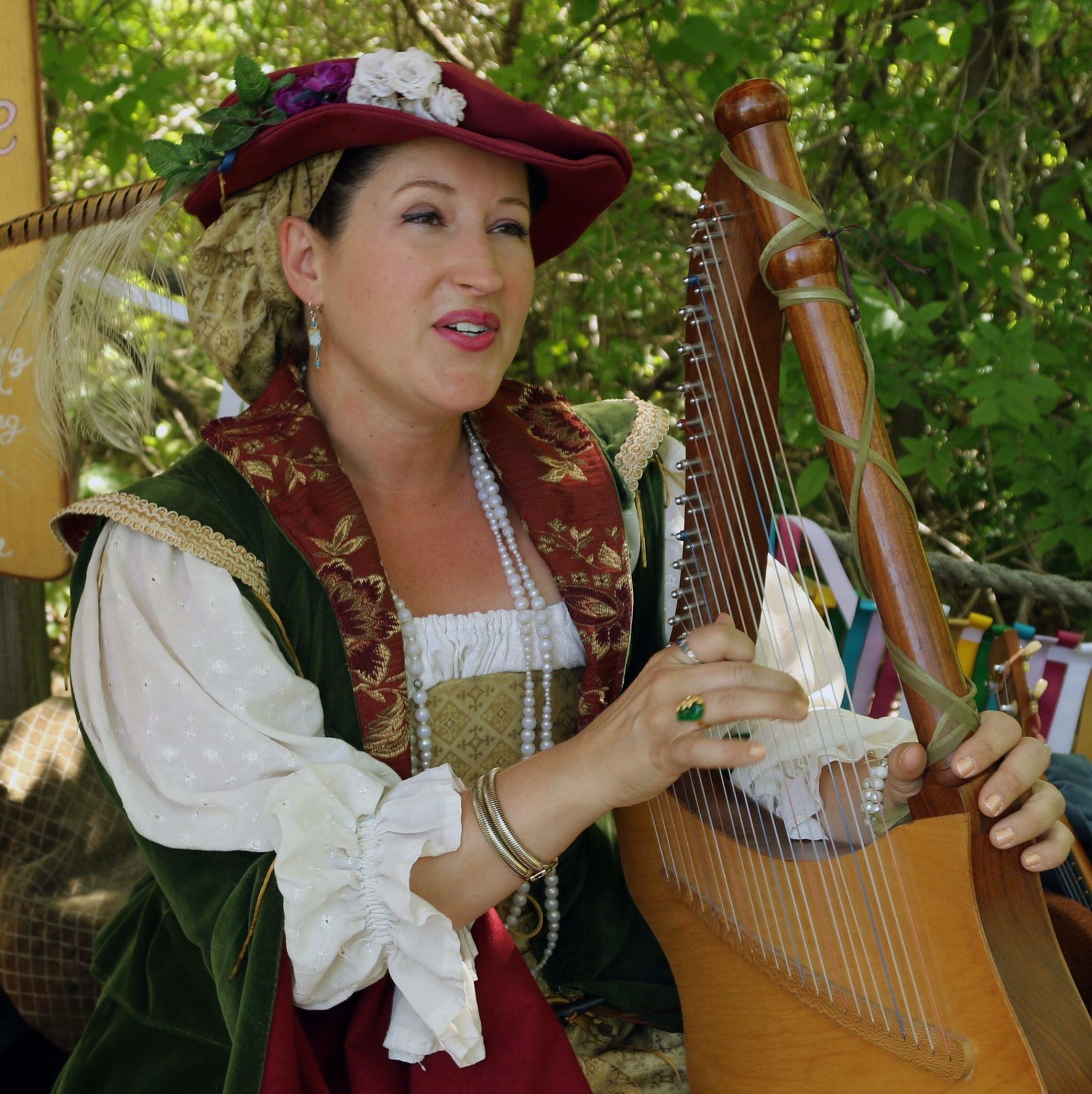 Entertainment: Lady Prudence harper musician
