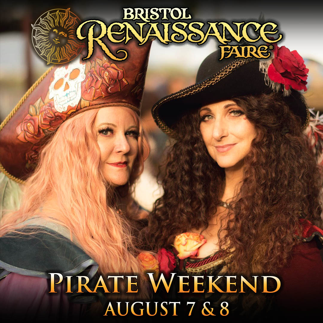 Theme Weekend Special Event Pirate Weekend smiling women