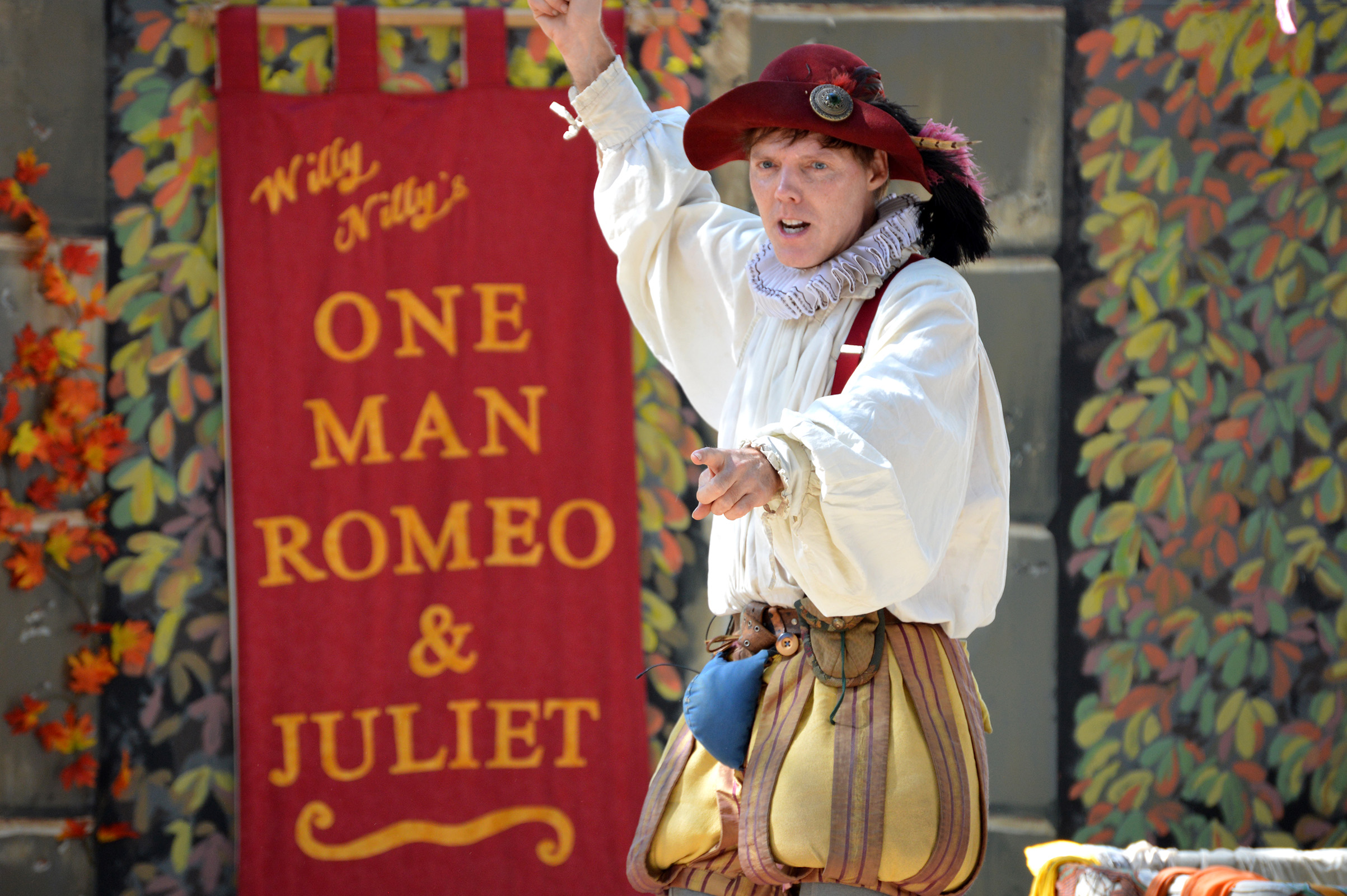Entertainment: One Man Romeo and Juliet comedy