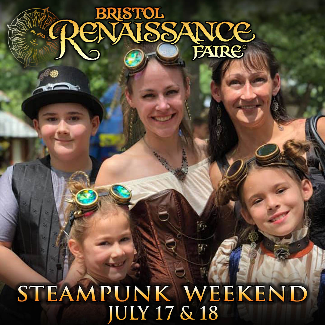 Theme Weekend Special Event Steampunk Weekend family
