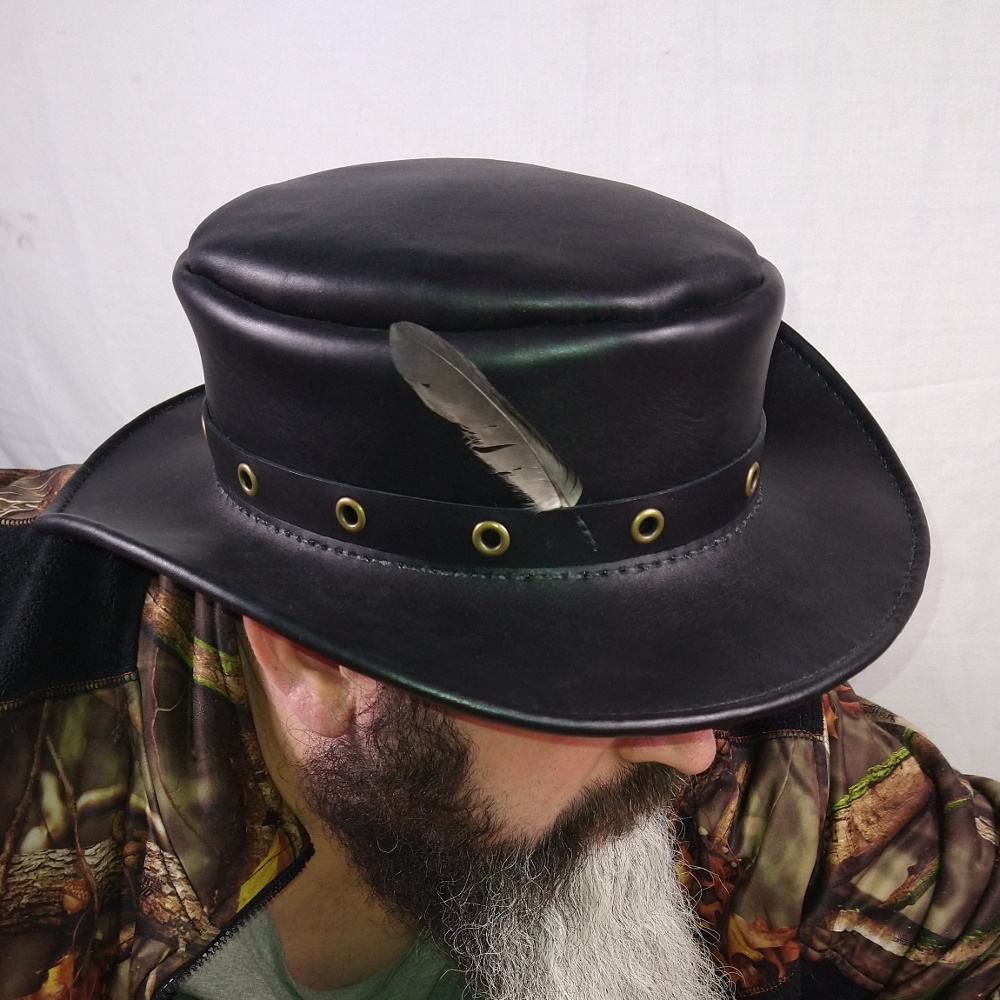 Guest Artist: Two Ravens Trading Company leather hat