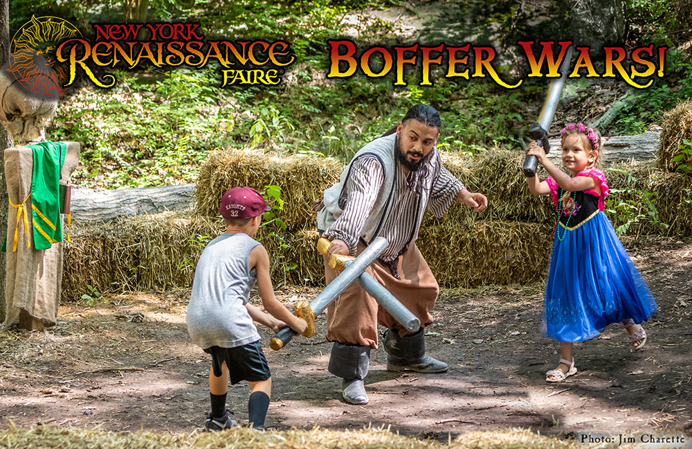 Special Event: Boffer Wars foam combat fight children kids