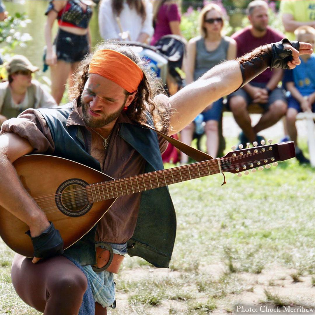 Audition: Instrumentalist musician lute alan a dale