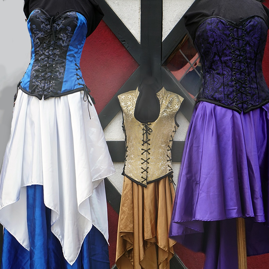 Artisan Marketplace Shopping: Casta Diva corsets women's clothing costume