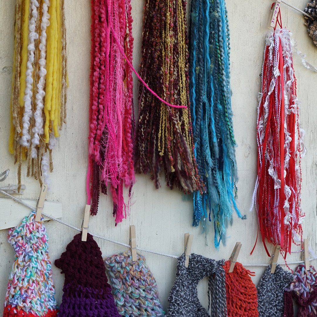 Artisan Marketplace Vendor: Enchanted Adornments Hair Tassels