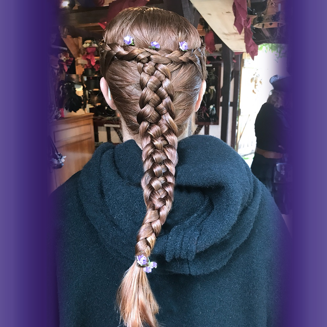 Artisan Marketplace Vendor Merchant: Fantasy Hair Weaving Multi-Strand Hair Braiding