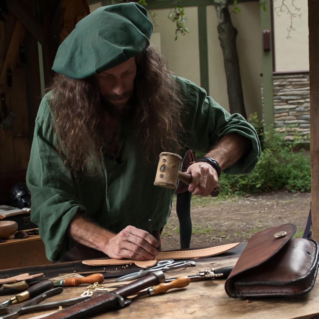 Artisan Marketplace Vendor Merchant: Hawk Studio Leather Belts Bags & Pouches