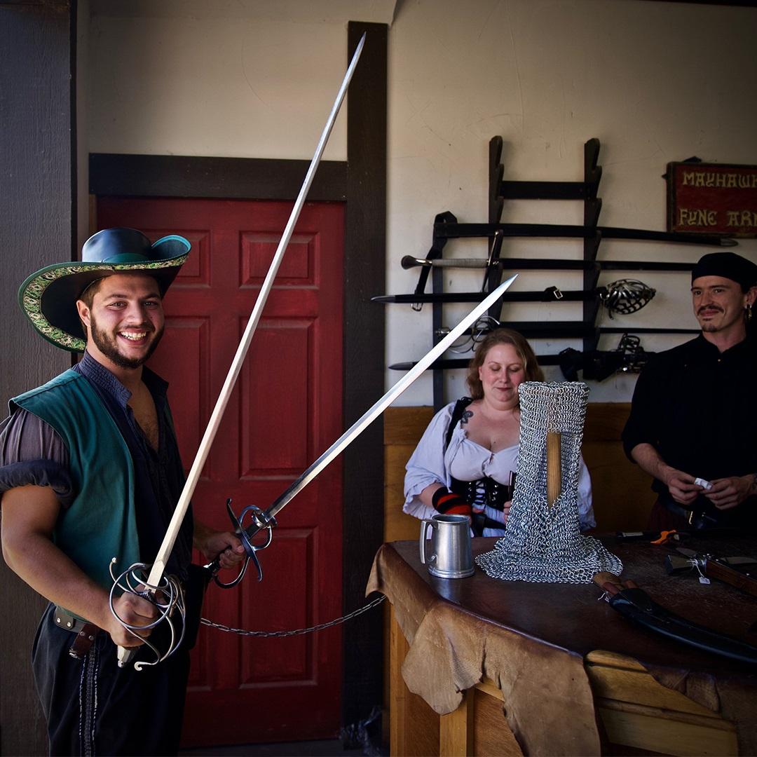 Artisan Marketplace Merchant Vendor: Mayhawke Armoury Historic Replica Weaponry
