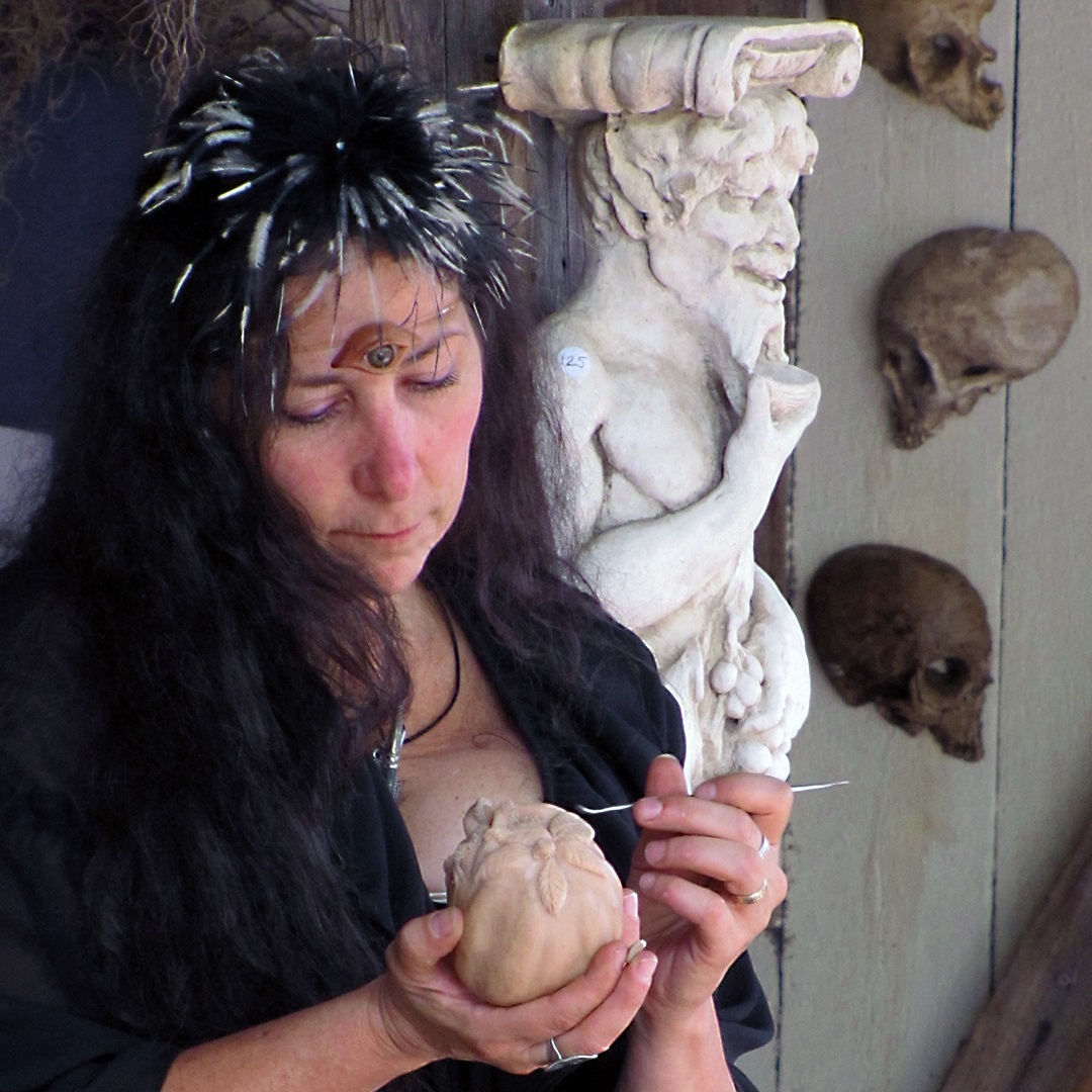 Artisan Marketplace Merchant Vendor: Neon Gargoyle Clay Figures, Gargoyles & Wall Hangings