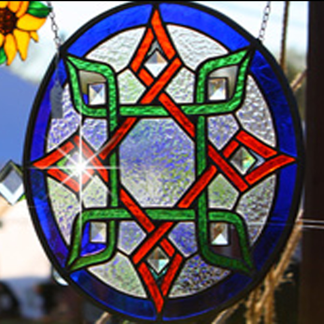 Artisan Marketplace Merchant Vendor: On Glass Wings Custom Stained Glass