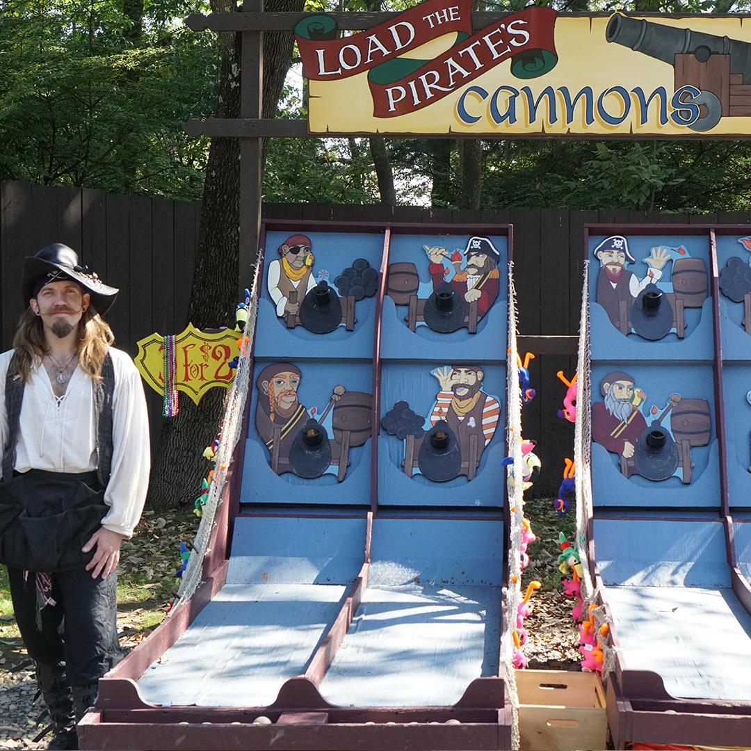Games: Pirate Cannon