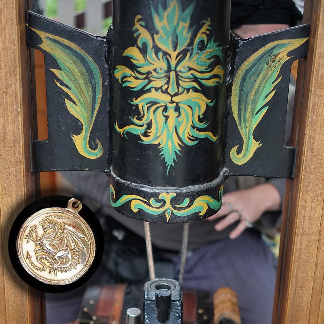 Artisan Marketplace Merchant Vendor: Somewear Beyond Coin Mint Custom Minted Medallions