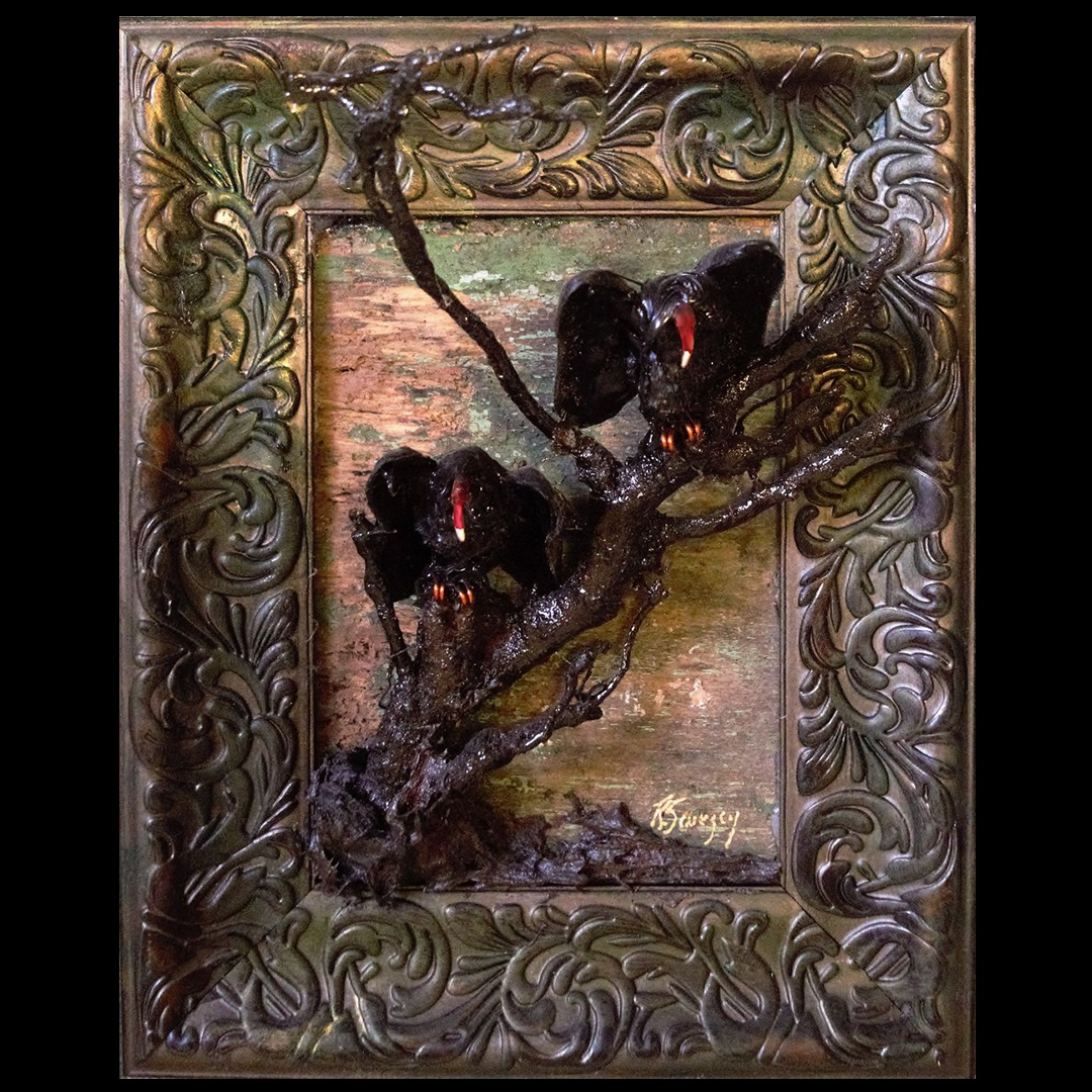 Artisan Marketplace Merchant Vendor: Tideline Salvage Rats, Bats & Vultures