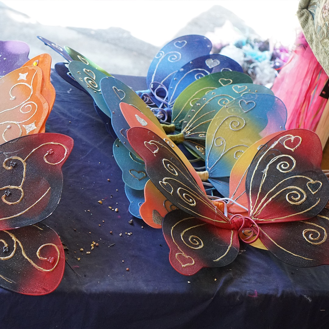 Artisan Marketplace Merchant Vendor: Titania's Garden Fairy Wings & Accessories
