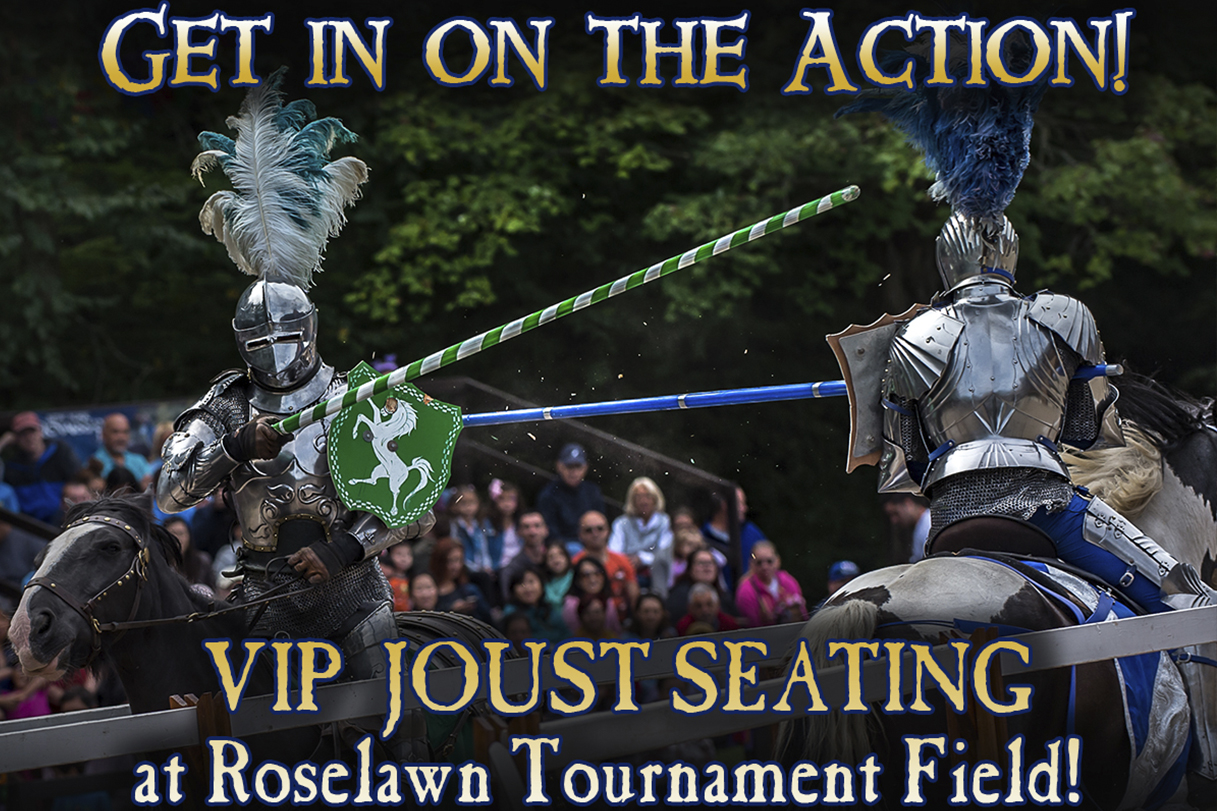 Special Event: VIP Joust Seating