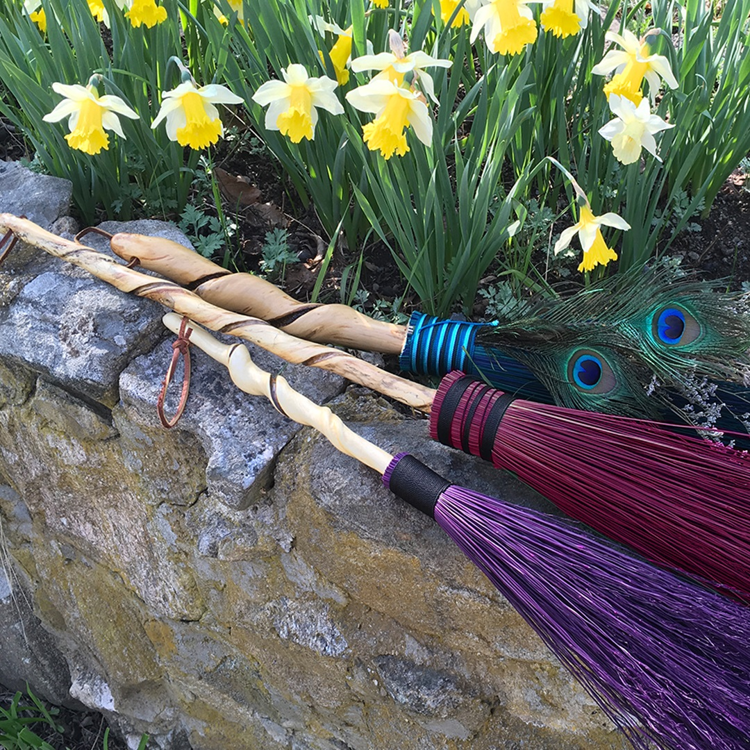 Artisan Marketplace Merchant Vendor: Wanderer's Wood Walking Sticks, Brooms, Wands & Canes