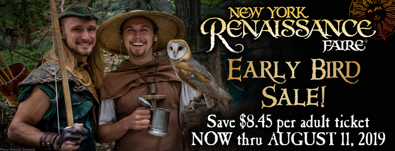 2019 Early Bird sale graphic
