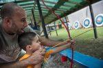 Media Photos Credit: Deborah Grosmark. Family Friendly Kids archery