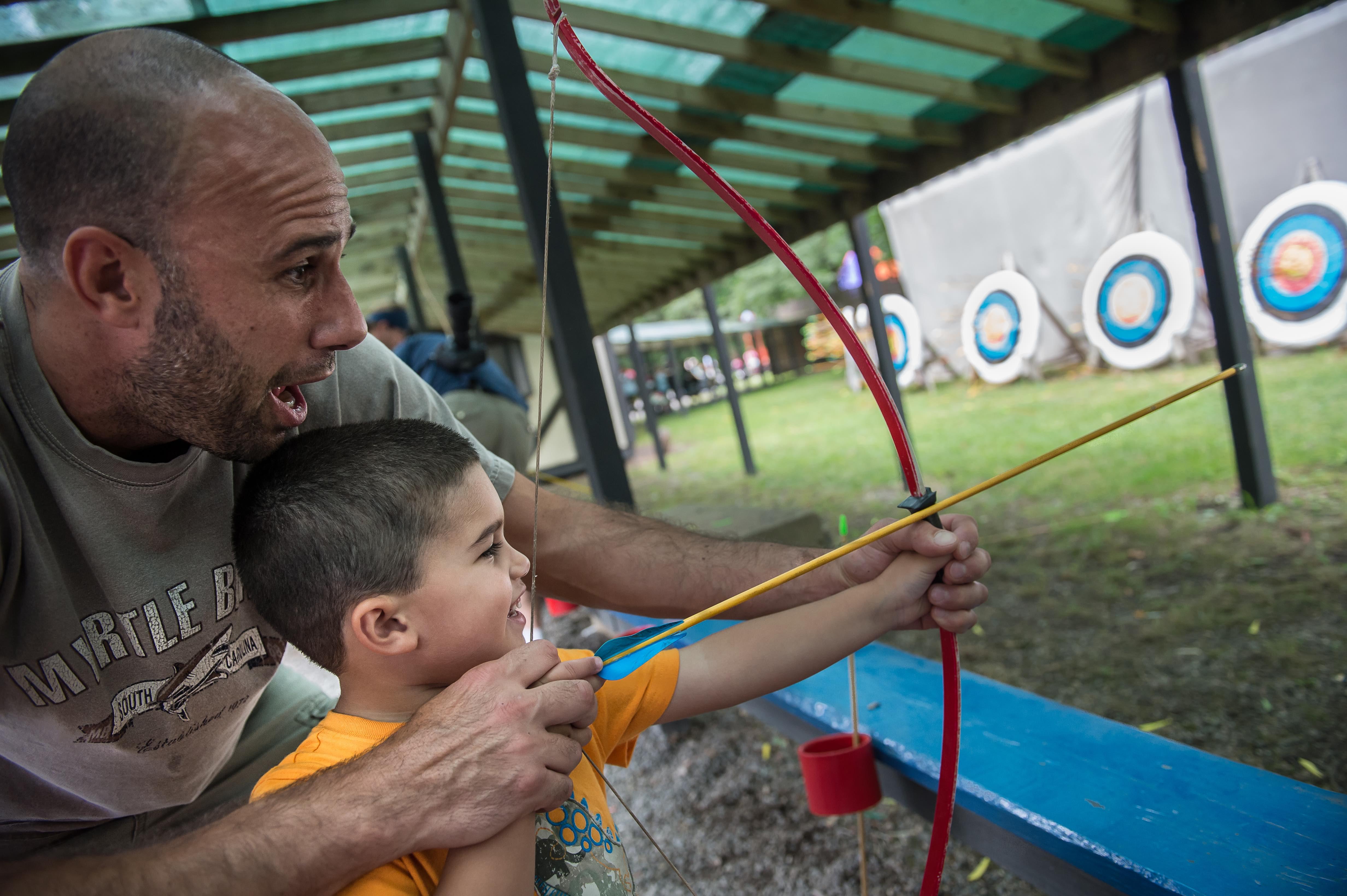 Family Friendly Kids archery