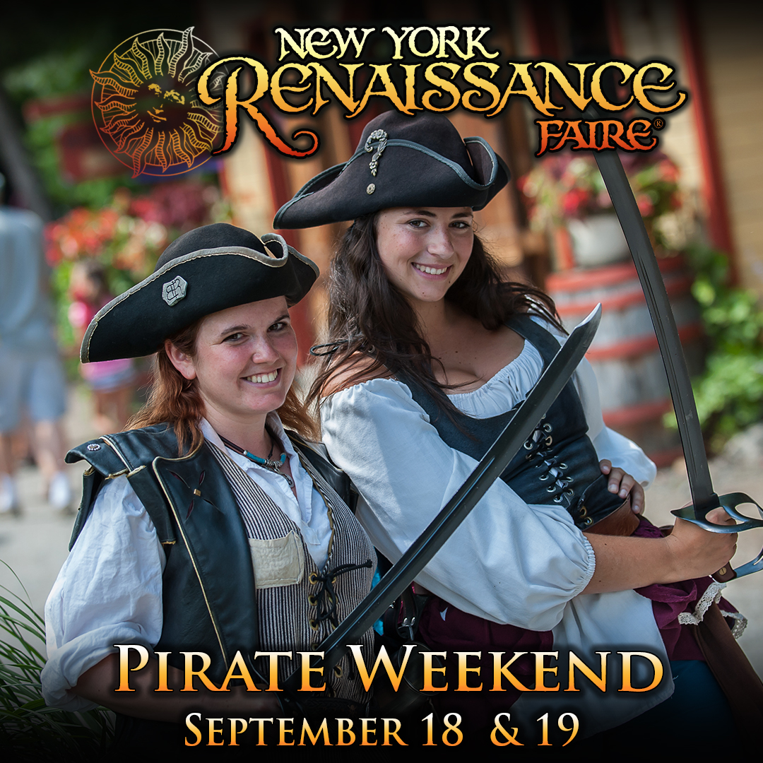 Special Events Theme Weekends Pirate Weekend smiling women