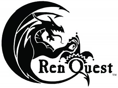 Entertainment: RenQuest (tm) logo