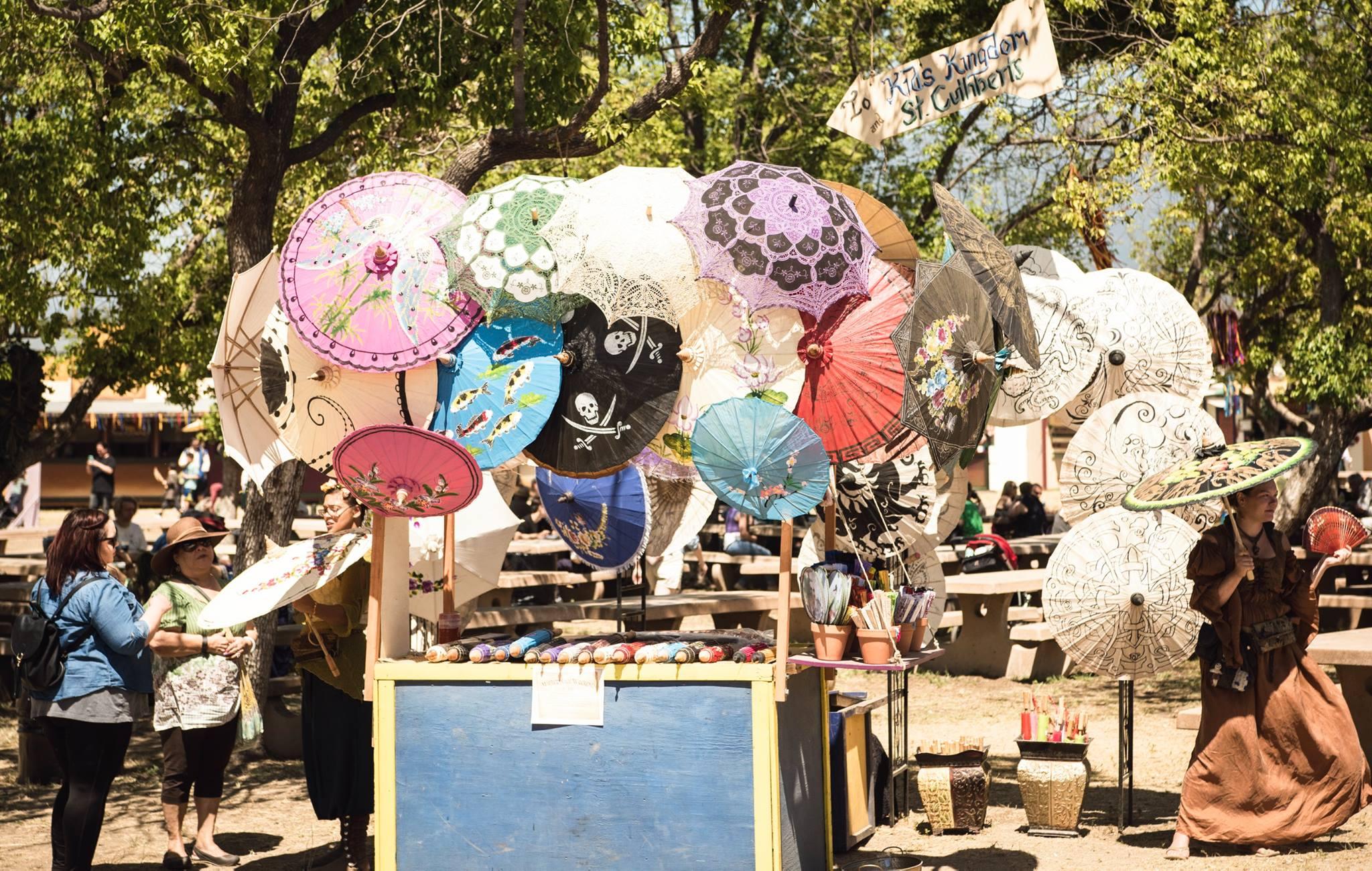 marketplace-umbrella-cart - The Original Renaissance Pleasure Faire