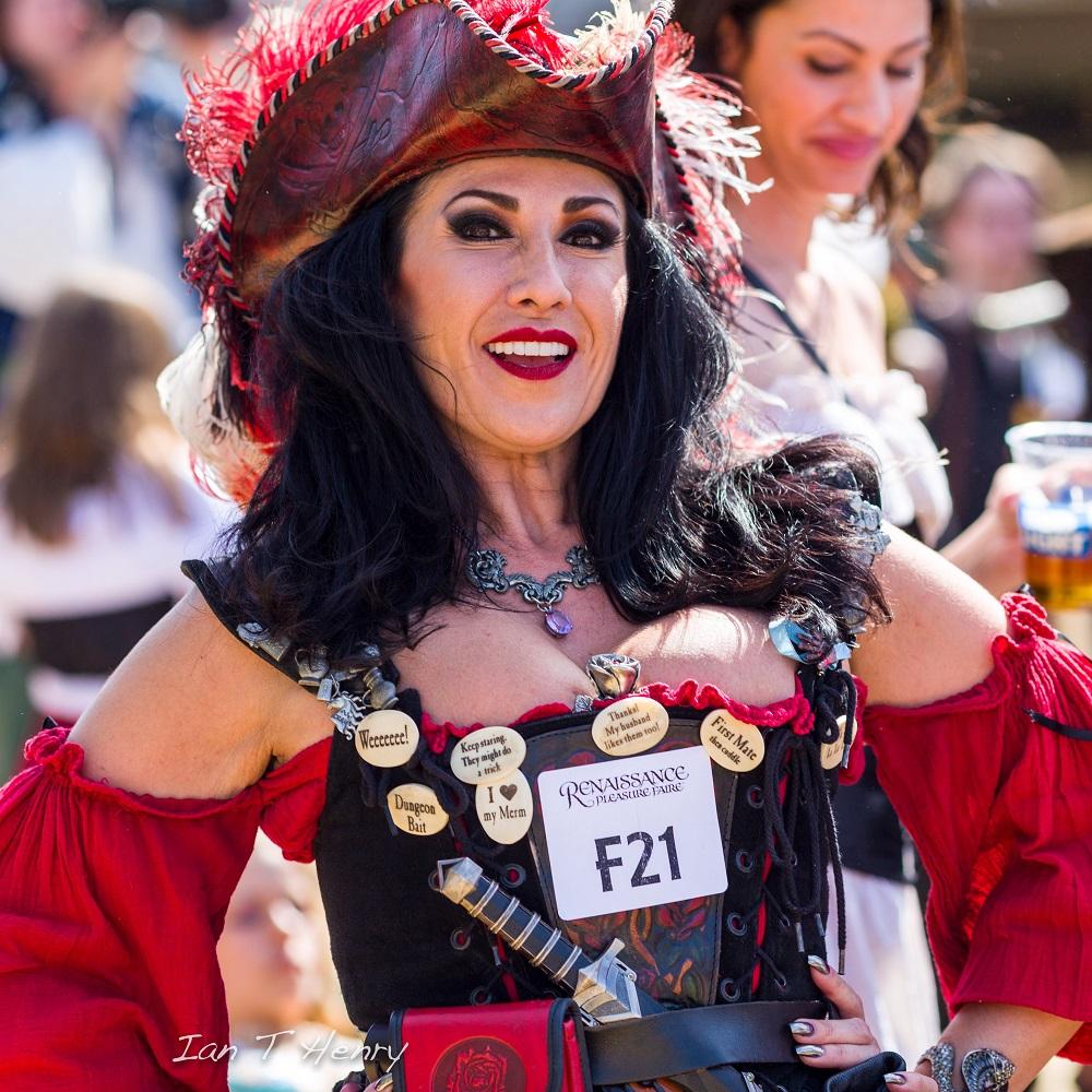 Pirate woman contest , The Original Renaissance Pleasure Faire