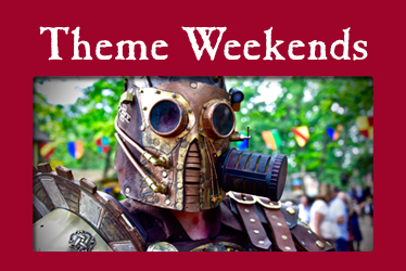 logo: Theme Weekends photo: Steampunk mask