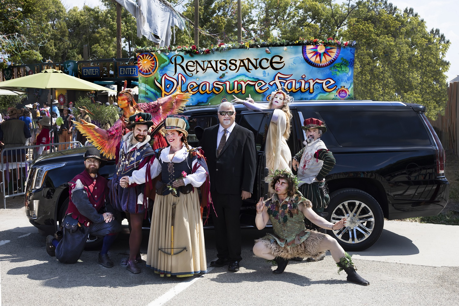 Sterling Black limo Faire promo