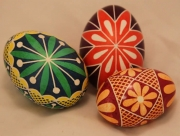 Ukrainian Egg Decoration